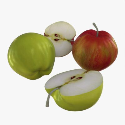 apple green red